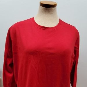 CATO Woman's Red Long Sleeve XL